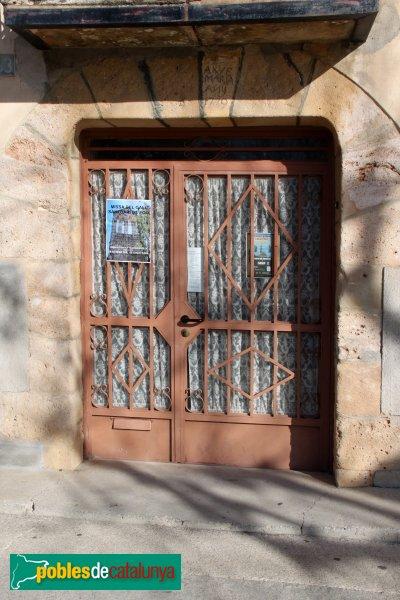 orrelles de Foix - Porta de la rectoria