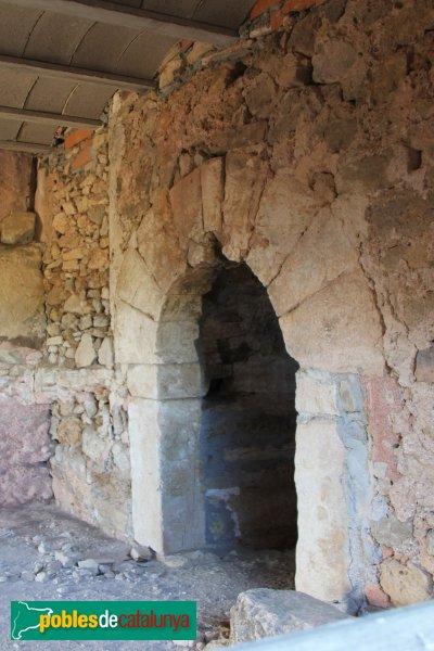 Torrelles de Foix - Masia de Cal Pepó, interior