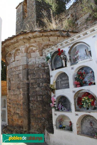Castellví de la Marca - Sant Sadurní Vell: l'absis