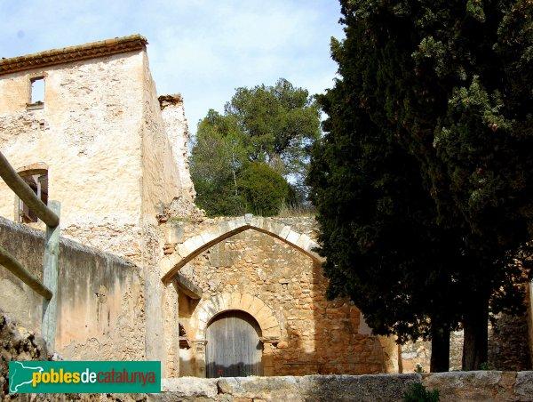 Castellví de la Marca - Sant Sadurní Vell, l'arc ja no hi és