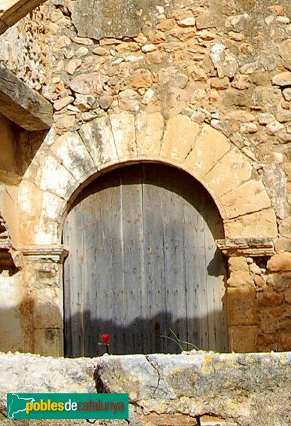 Castellví de la Marca - Sant Sadurní Vell: la porta