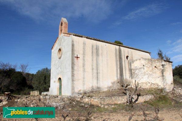 Castellví de la Marca - Capella de Sant Andreu, amb l'antic absis romànic
