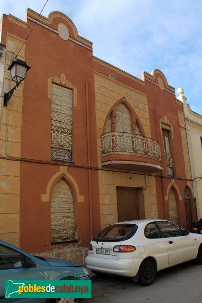 Castellví de la Marca - Cases del carrer Anselm Clavé