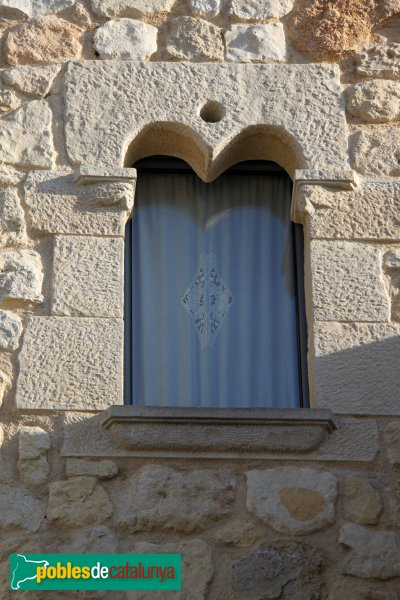 Castellet i la Gornal - Casa de Castellet, detall