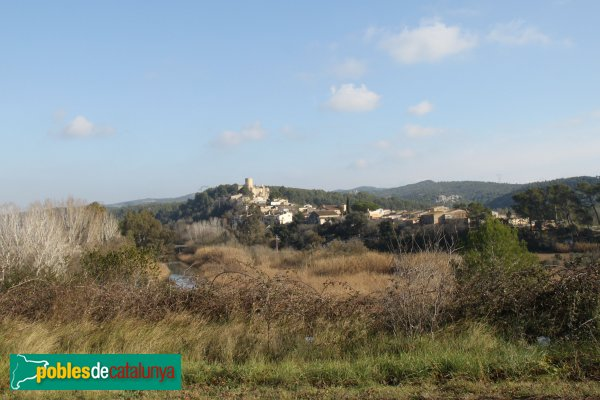 Castellet i la Gornal - Castellet, de lluny