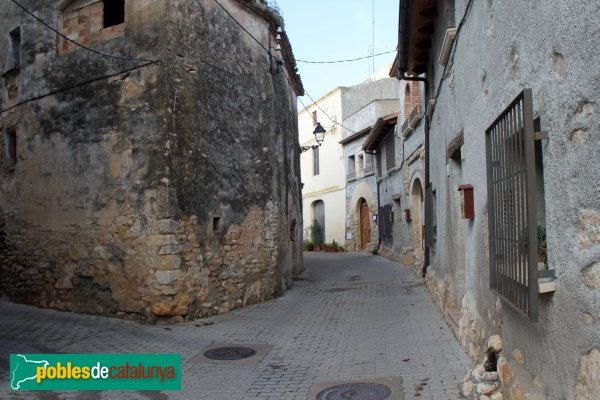 Castellet i la Gornal - Carrer de Clariana