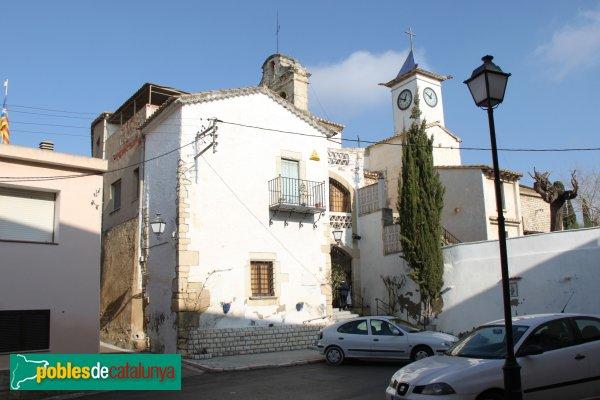 Castellet i la Gornal - Sant Pere de la Gornal i Rectoria