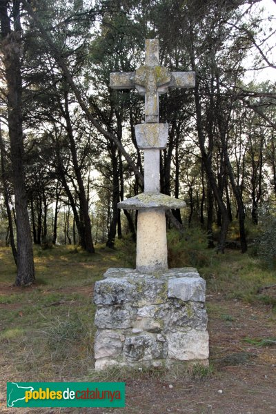 Castellet i la Gornal - Creu de Muntanyans