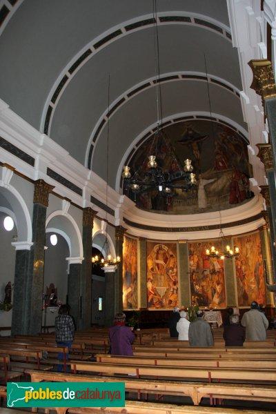Santa Margarida i els Monjos - Església nova de Santa Margarida