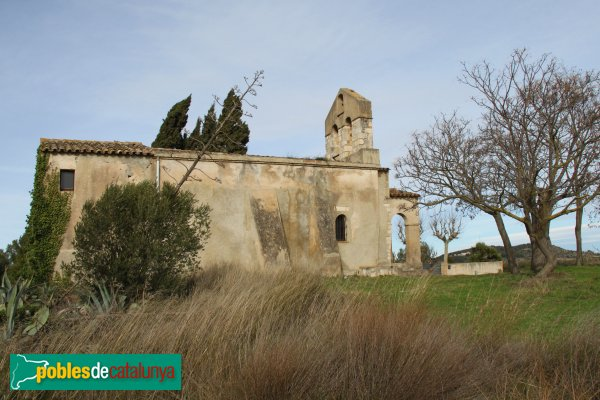 Santa Margarida i els Monjos - Capella de la Bleda