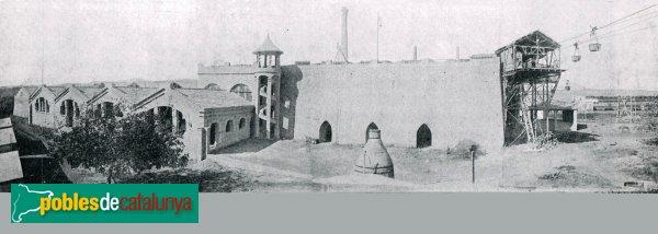 Santa Margarida i els Monjos - Fàbrica de ciment