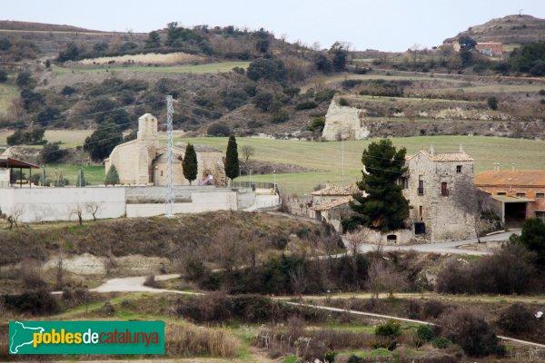 Ribera d´Ondara - Església de Sant Antolí i Casa d´hostes del Castell