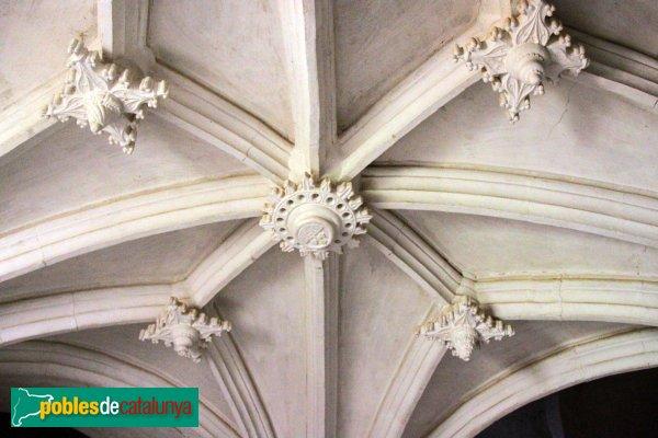 Ribera d'Ondara - Santa Maria de Montlleó, volta del cor