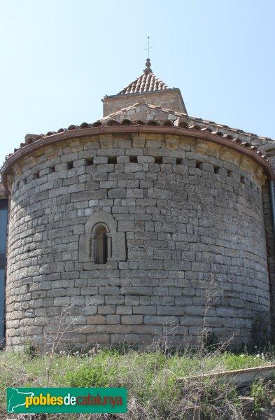 Montoliu - Absis de Sant Pere de l'Ametlla