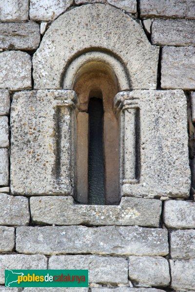 Montoliu - Sant Pere de l'Ametlla, finestra de l'absis