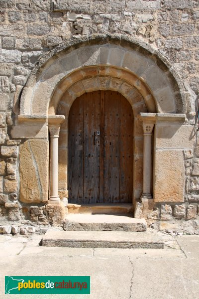 Montoliu - Portada de Sant Pere de l'Ametlla