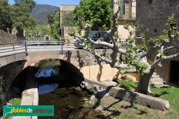 Cantallops - Pont de Can Quim Daviu