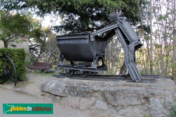 La Vajol - Monument al Minaire