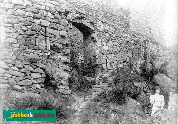 La Jonquera - Castell de Requesens, abans de la restauració
