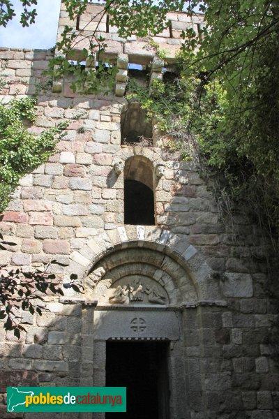La Jonquera - Castell de Requesens, capella de Sant Romà