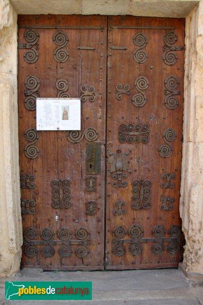 Cistella - Santa Maria de Cistella , porta