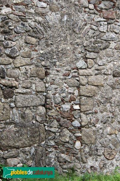 La Jonquera - Sant Martí del Forn de Vidre, porta tapiada