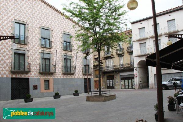La Jonquera - Plaça Major