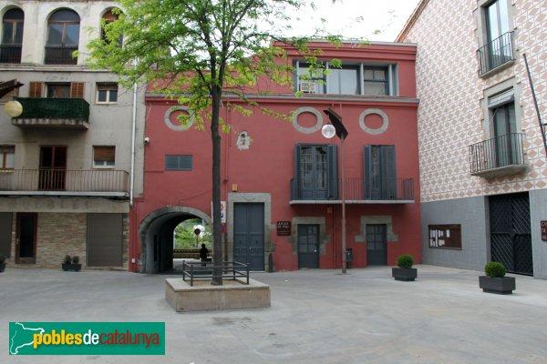 La Jonquera - Plaça Major, Ajuntament