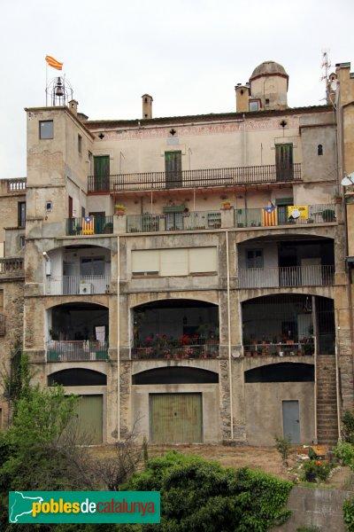 Maçanet de Cabrenys - Can Molar, façana posterior