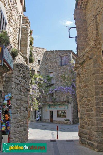 Maçanet de Cabrenys - Restes d'un antic portal