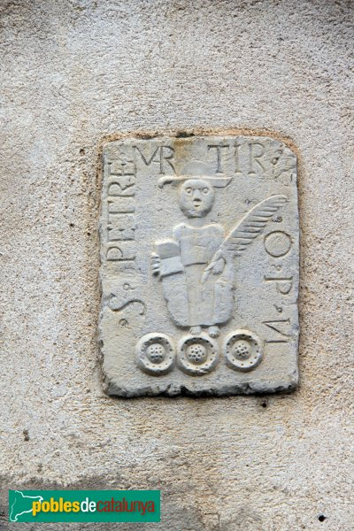 Darnius - Relleu de la casa del carrer Major, 59