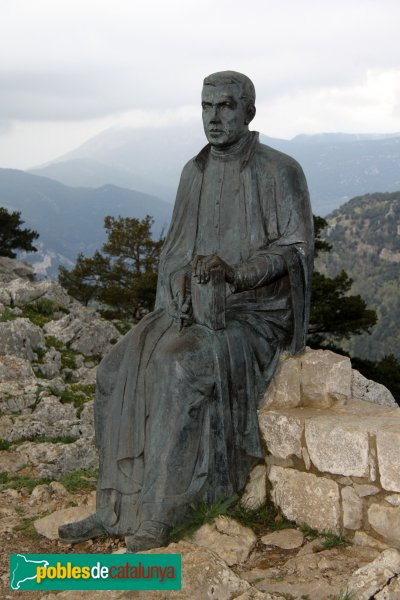 Albanyà - Monument a Mossèn Cinto Verdaguer