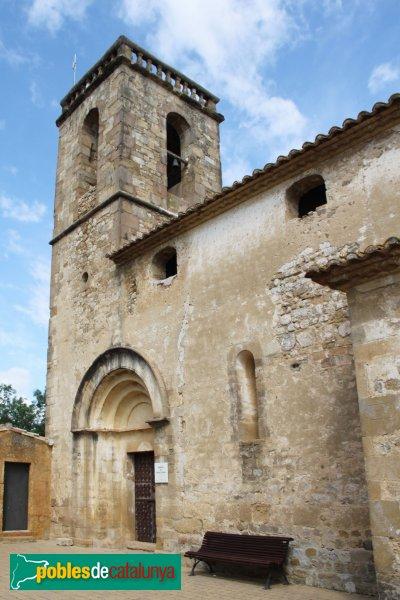 Cabanelles - Església de Santa Coloma