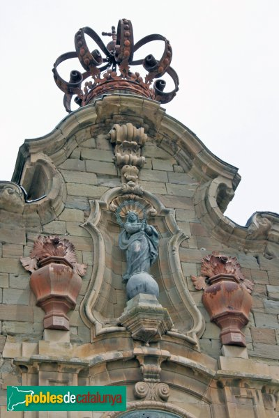 Cervera - Universitat, façana exterior