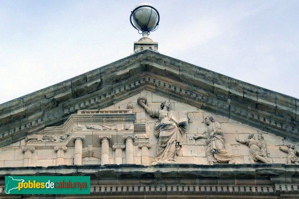 Cervera - Universitat, façana interior