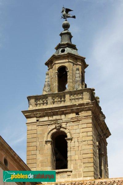 Cervera - Universitat, campanar de la façana interior