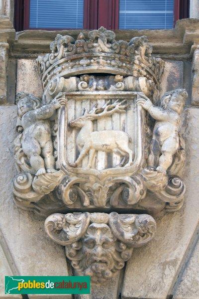 Cervera - Paeria, escut de la ciutat