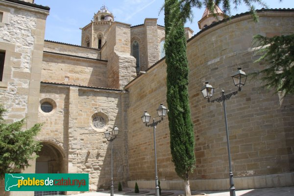 Cervera - Església de Santa Maria, façana de Sant Martí