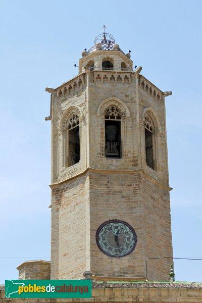 Cervera - Església de Santa Maria, campanar