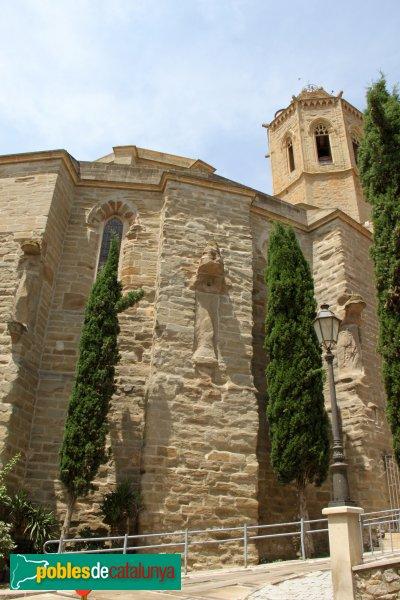 Cervera - Església de Santa Maria, absis