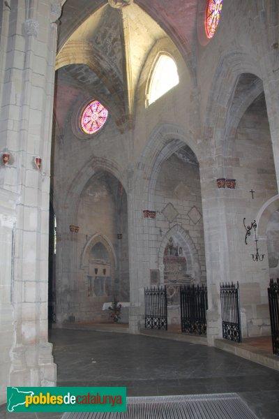 Cervera - Església de Santa Maria, girola