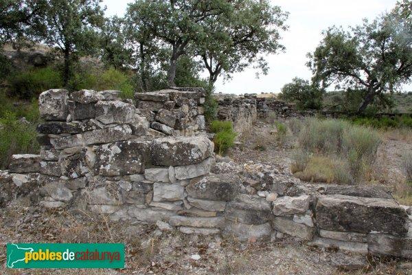 Cervera - Restes del poble de Tudela