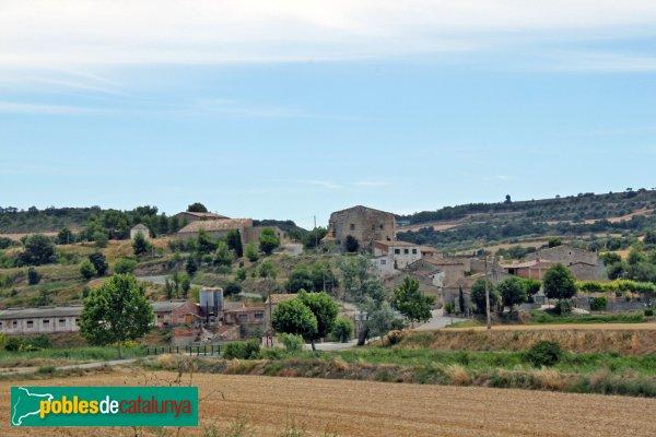Granyanella - La Móra, amb el seu castell