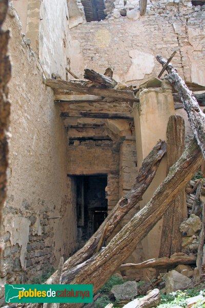 Granyanella - Castell de la Móra, interior