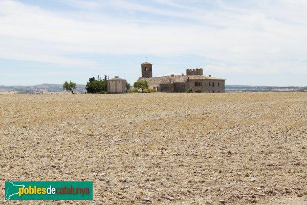 Granyanella - Castell i església de la Curullada
