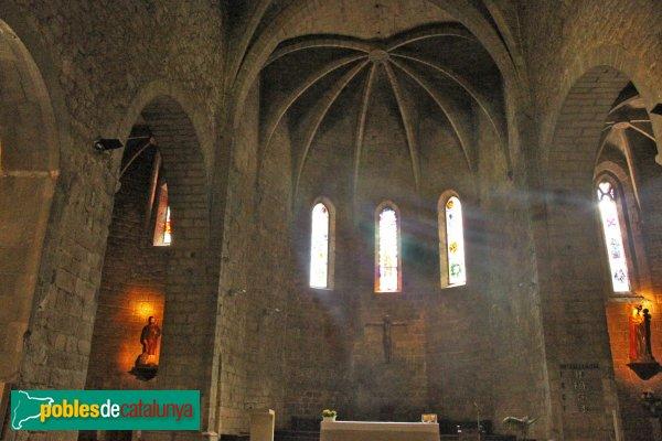 Sant Feliu de Guíxols - Església gòtica: capçalera