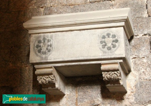 Sant Feliu de Guíxols - Monestir, sepulcre gòtic