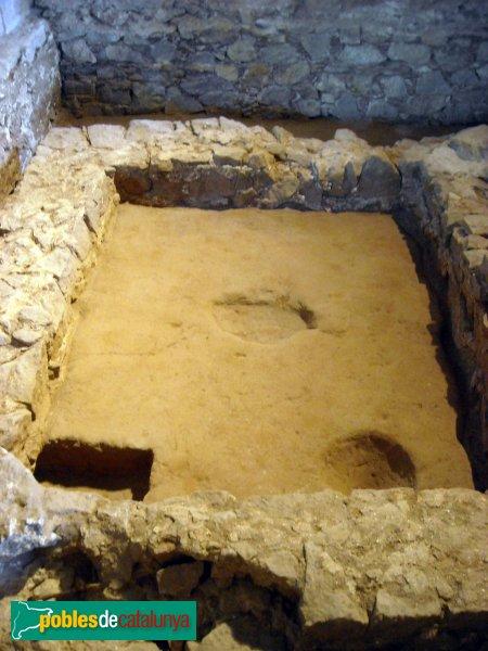 Barcelona - Drassanes, mausoleu romà