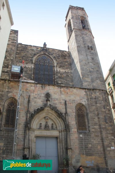 Barcelona - Església dels Sants Just i Pastor