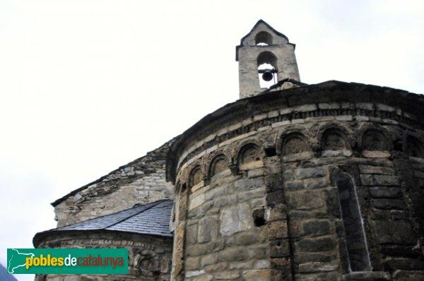 Església de Santa Eulàlia a Unha - Absis